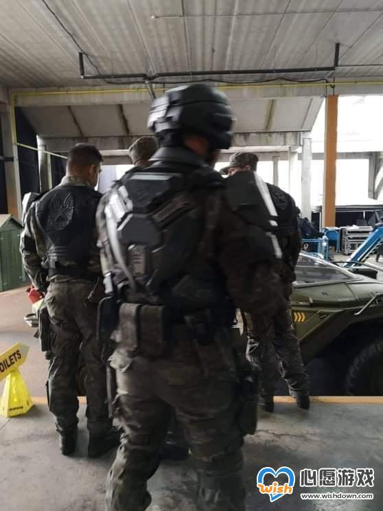 《光环》电视剧片场照曝光 疣猪号战车造型相当还原