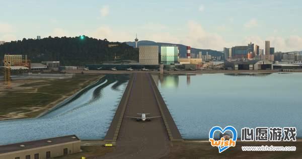 《微软飞行模拟》澳门/杭州机场Mod 地标建筑完美还原