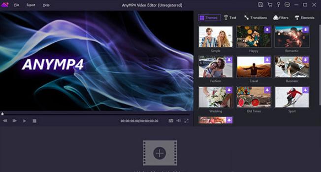 AnyMP4 Video Editor(视频编辑器) V7.2.38 电脑版